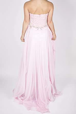 Sherri Hill 3895 Light Pink Bodice Detail Dress UK 10 (US 6): Amazon.co.uk: Clothing