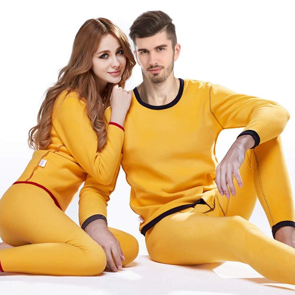 HNRYUDCF Thermo-Unterwäsche Herren Winter Damen Sets Warm halten bei kaltem Wetter Größe M bis 4XL Herren, L Marineblau