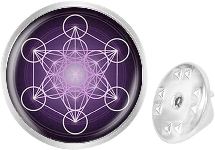 Custom Lapel Pin Brooches Religious Geometric Banquet Badge Pins Trendy Accessory Jacket T-Shirt Bag Hat Shoe