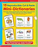 15 Reproducible Cut and Paste Mini Dictionaries, Mary Kay Carson and M'Liss Brockman, 0439262437