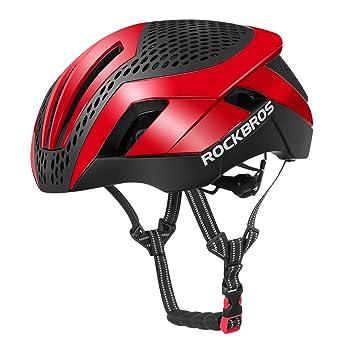 ROCKBROS Casco Integral para Ciclismo con 26 Agujero y 2 ...