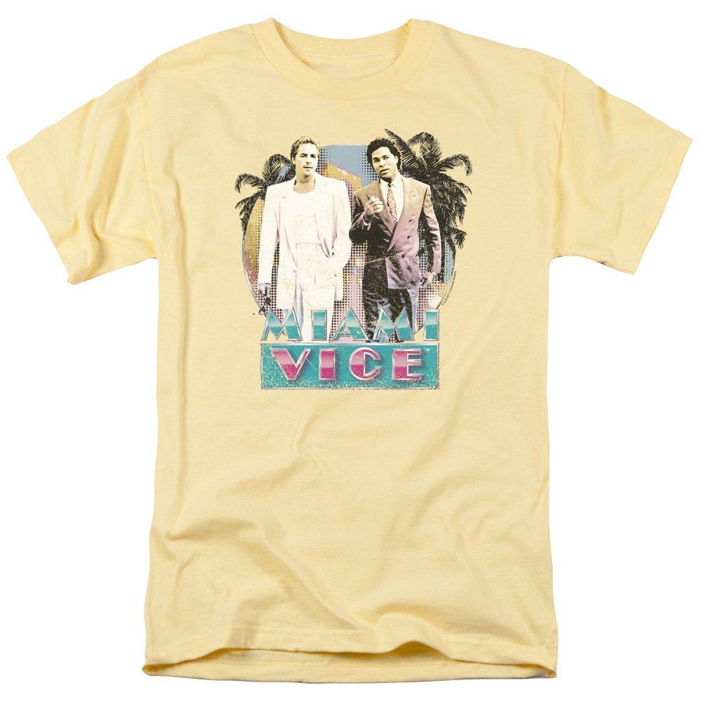 Trevco Men S Miami Vice Logo Shirts
