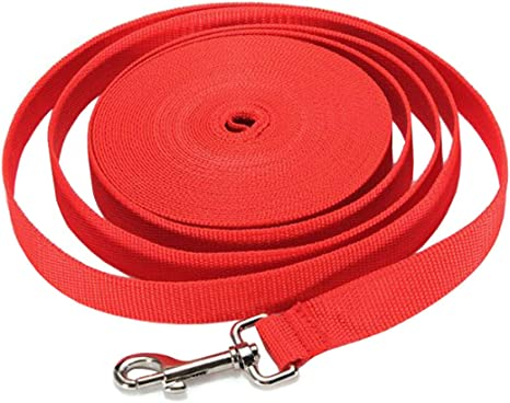 Gozier 40FT//50FT//66FT Extra Long Puppy Pet Training Obedience Retractable Lead Leash Recall 3 Color Choice 66Ft, Red