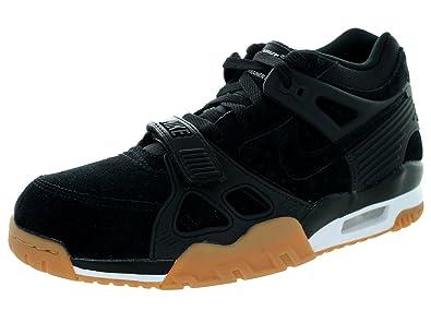 big sale bcaa8 e6434 Nike Men s Air Trainer 3 Black Gum 705426-002 (Size  10.5)