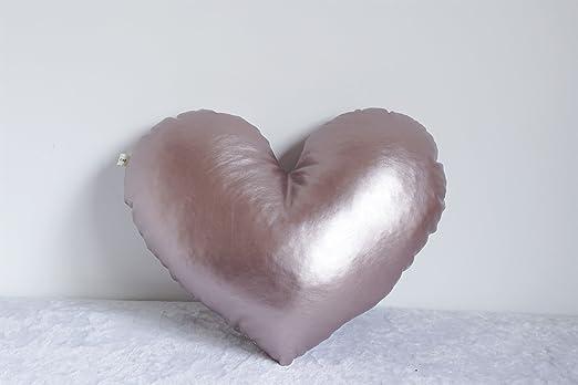 lhl-almohadas de llenado estándar color caramelo-amor ...