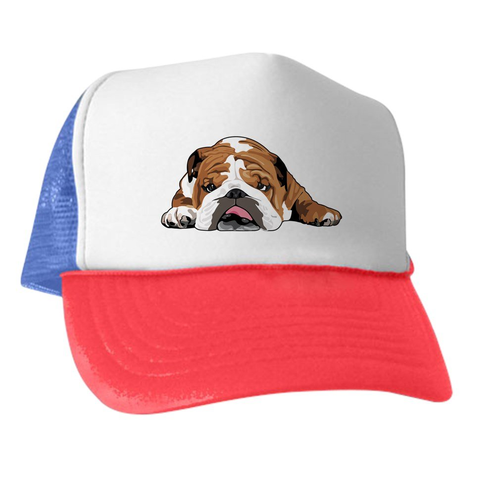430de2517ab cafepress teddy english bulldog trucker hat trucker hat classic ...