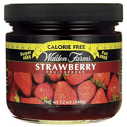 (Walden Farms Calorie Free Fruit Spread, Strawberry Flavoured, 12 oz)