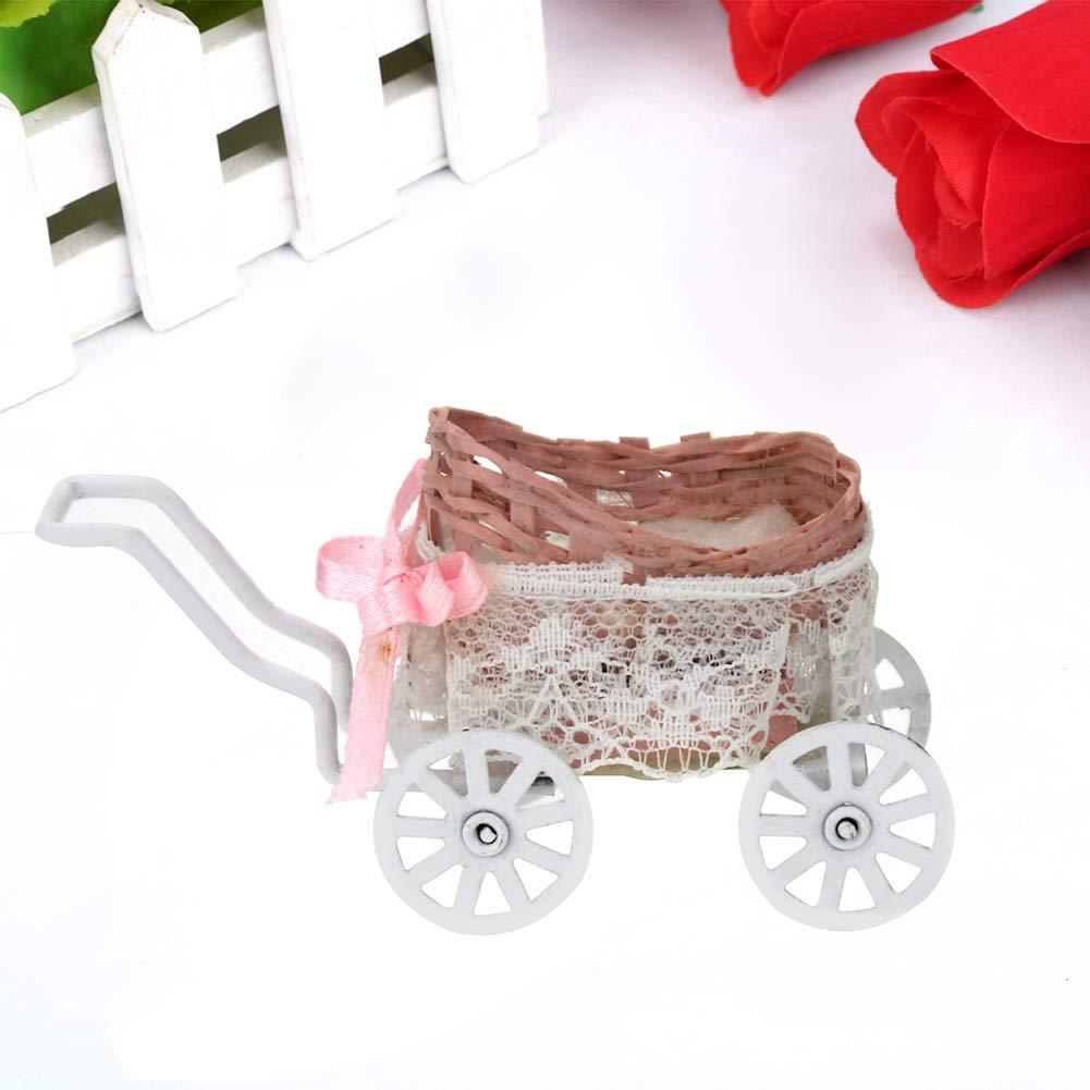 rycnet Cochecito de bebé en Miniatura casa de muñecas a Escala 1 ...