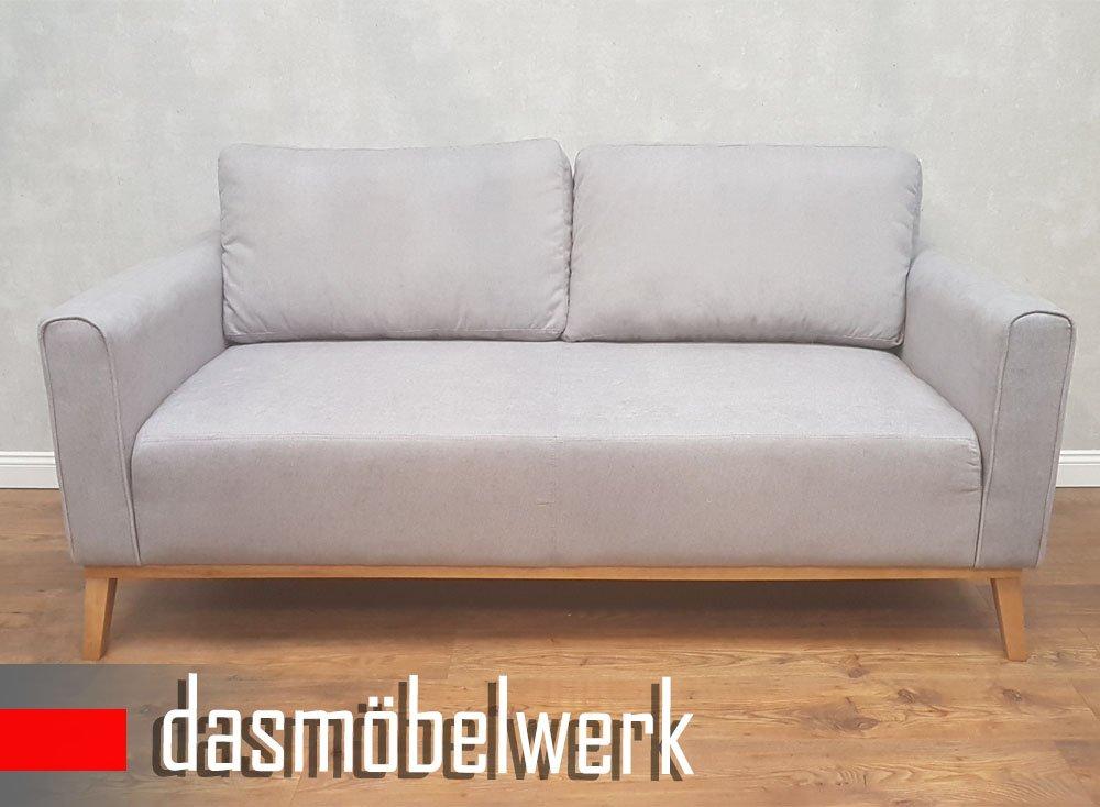 Dasmobelwerk Sessel Sitzmobel Polstermobel Retro 3er Sofa