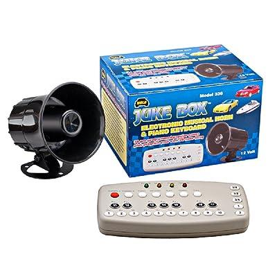 Wolo (336) Juke Box Electronic Musical Horn - 12 Volt: Automotive