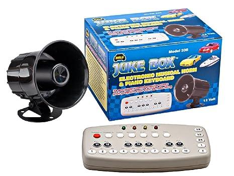 Amazon.com: Dometic Wolo (336) Juke Box Electronic Musical Horn - 12 on