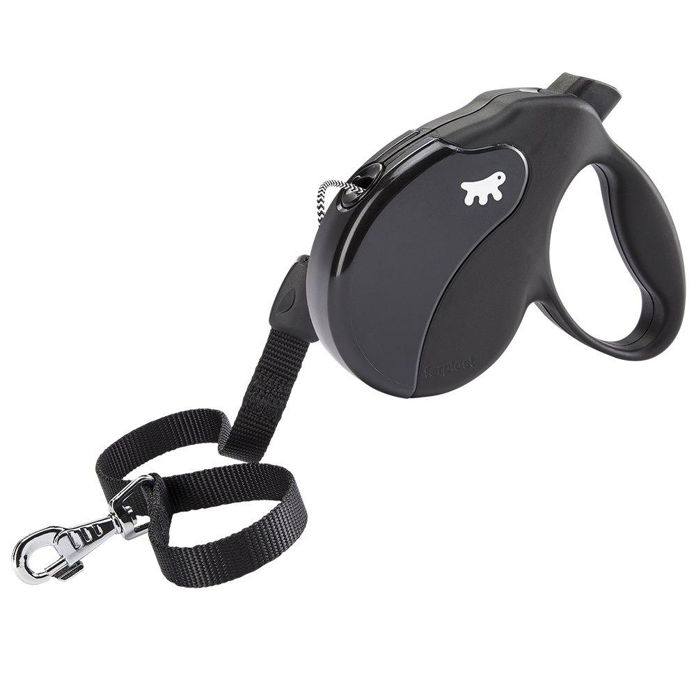 Ferplast AMIGO Cord Retractable Dog Lead, 5m,, Large, 16 x 3.8 x 15cm, , Large, Black