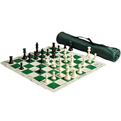 The House of Staunton US Chess Quiver Chess Set Combo - Green (1 Pack) : Sports & Outdoors