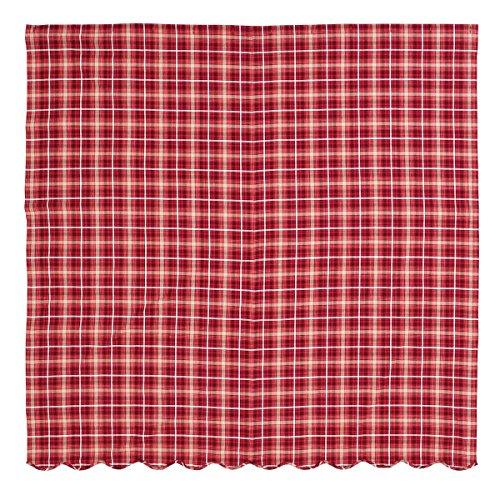VHC Brands Braxton Scalloped 29199 Shower Curtain