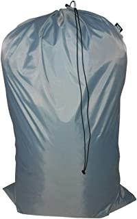 product image for Laundry Bag Heavy Duty Jumbo Sized Nylon Holds Approximately 40 lb Made in USA. (Gray)
