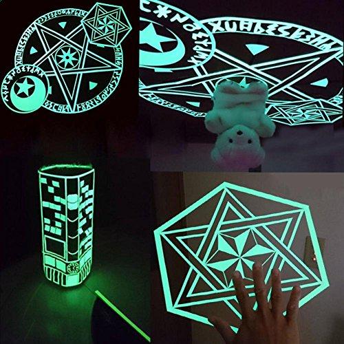 Niome Green Luminous Tape Sticker Removable, Waterproof, Photoluminescent by Niome (Image #4)
