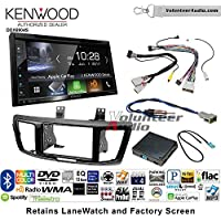 Volunteer Audio Kenwood Excelon DDX6904S Double Din Radio Install Kit with Satellite Bluetooth & HD Radio Fits 2013-2015 Honda Accord