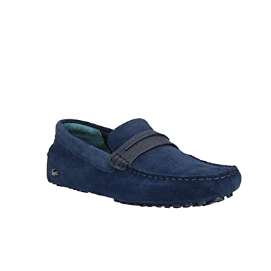 2f74508c1 Moccasins Lacoste Herron 118-1 2S3 Blue Navy  Amazon.co.uk  Shoes   Bags