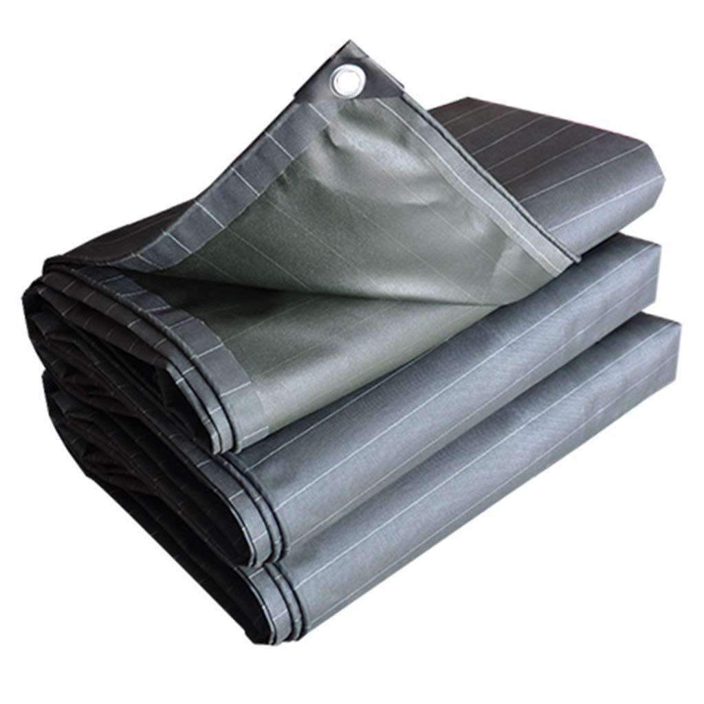 防水シートの頑丈で平らなキャンバスカバー - 屋根のテントのための防水および防風日焼け止めポンチョ、プールカバー、550g / M2、0.5mm (サイズ さいず : 5*6m) B07RVKJKZW  5*6m