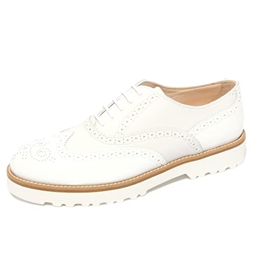 B0673 sneaker donna HOGAN ROUTE FRANCESINA bianco shoe woman