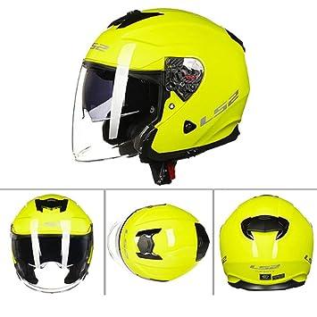 Casco De La Motocicleta De Los Hombres Y De Las Mujeres Medio Casco, ECE Certificó