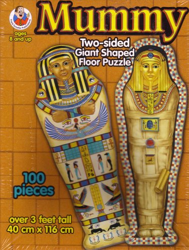 Mummy Two Sided Giant Shaped Floor Puzzle ()