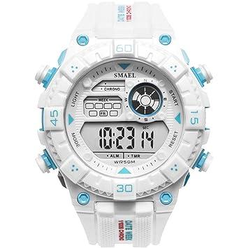 SW Watches LED Relojes De Ejército Reloj Digital Big Dial Men Reloj Impermeable Deportivo SMAEL Top Luxury Brand,G: Amazon.es: Deportes y aire libre