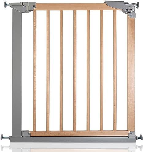 BabyDan Designer - Bebé Puerta de la Escalera Barrera de Seguridad, 69,1-75,8cm: Amazon.es: Bebé