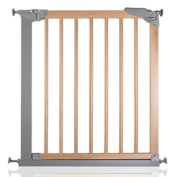 Safetots Wide Walkthrough Wooden Stair Gate, 69.1cm To 75.8 Cm
