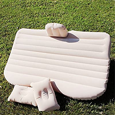 Nifogo Colchones inflables, Cama Hinchable Air Bed Car Bed Air Mattress Cama de Aire del Colchón del Respaldo Asiento Trasero del Coche, Fits Most Car ...