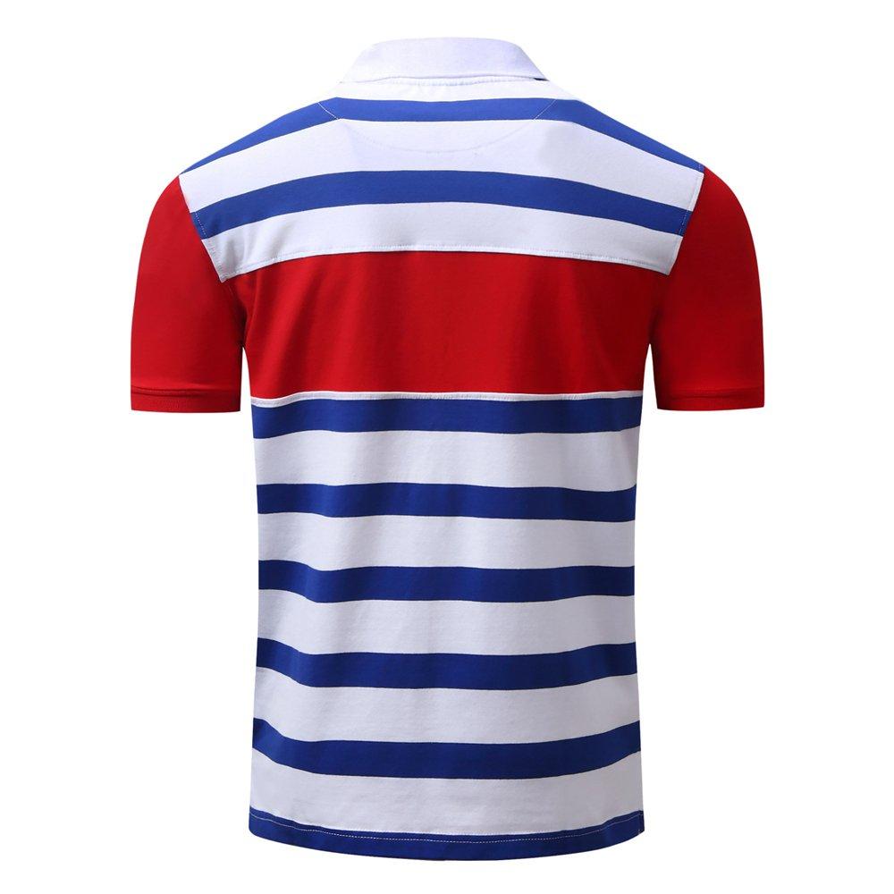 Mens Classic Short Sleeve Performance Polo Shirt T-Shirt
