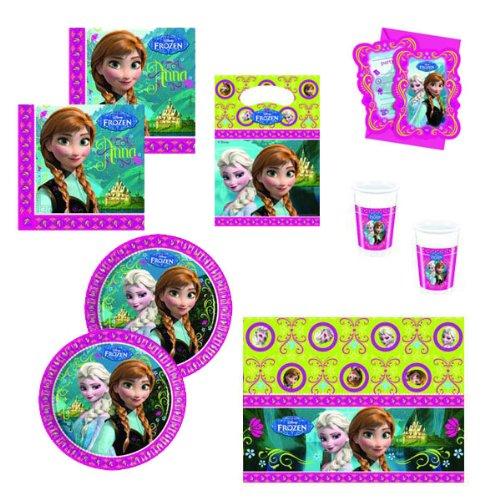 Disney Frozen - Juego de decoración para cumpleaños, diseño ...