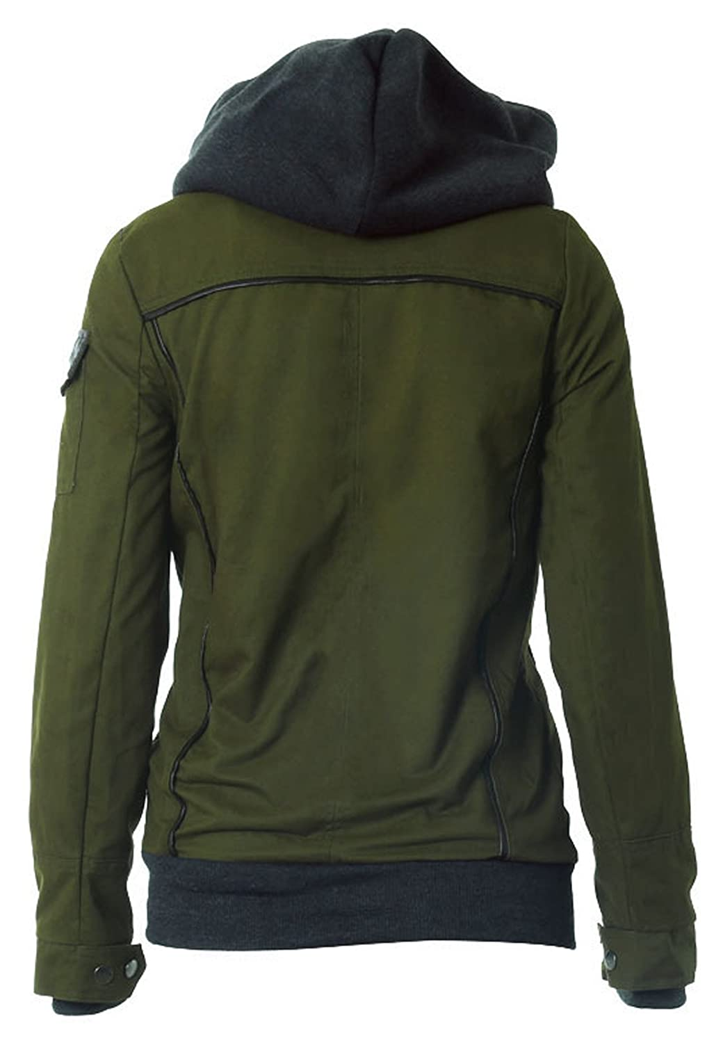 Youhan Women's Fitted Hoodie Thick Hooded Sweatshirt at