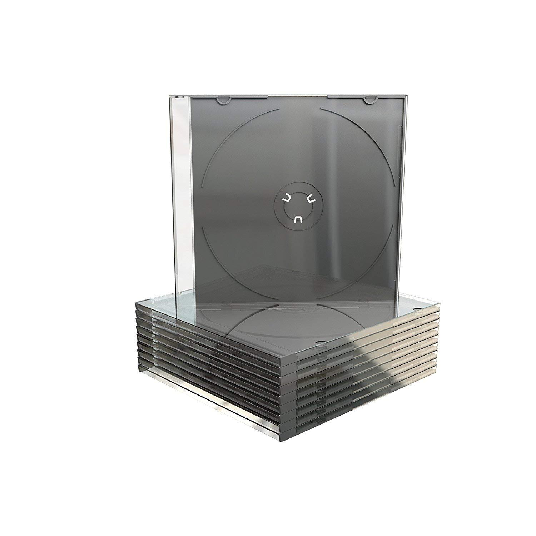 50 x Individual Estuches para CD: Amazon.es: Informática