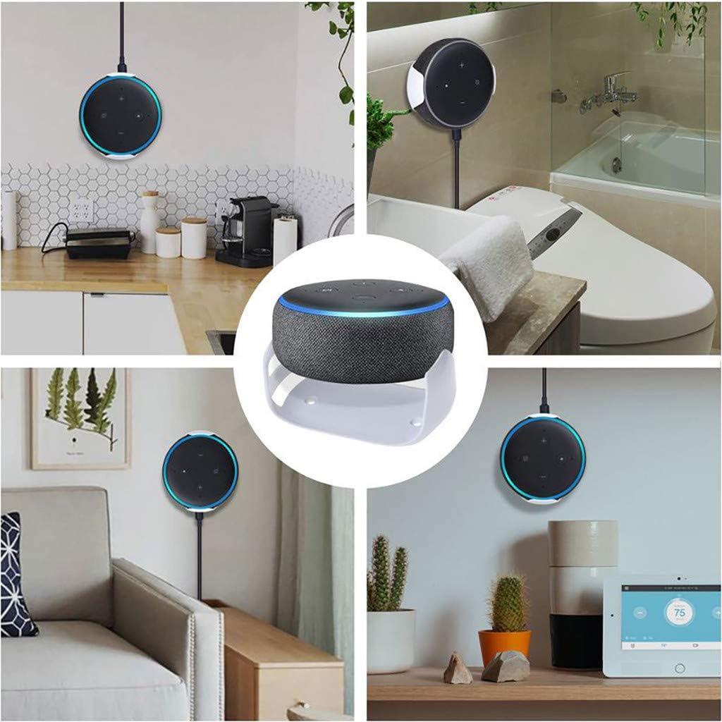 Colorful Halterung Wandhalterung Ständer Halter Zubehör Für Echo Dot 12.  Generation - Wohnzimmer, Badezimmer, Schlafzimmer usw.