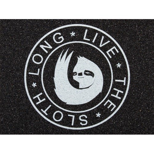 Hella Long Live the Sloth Grip Tape Black/White by HELLA