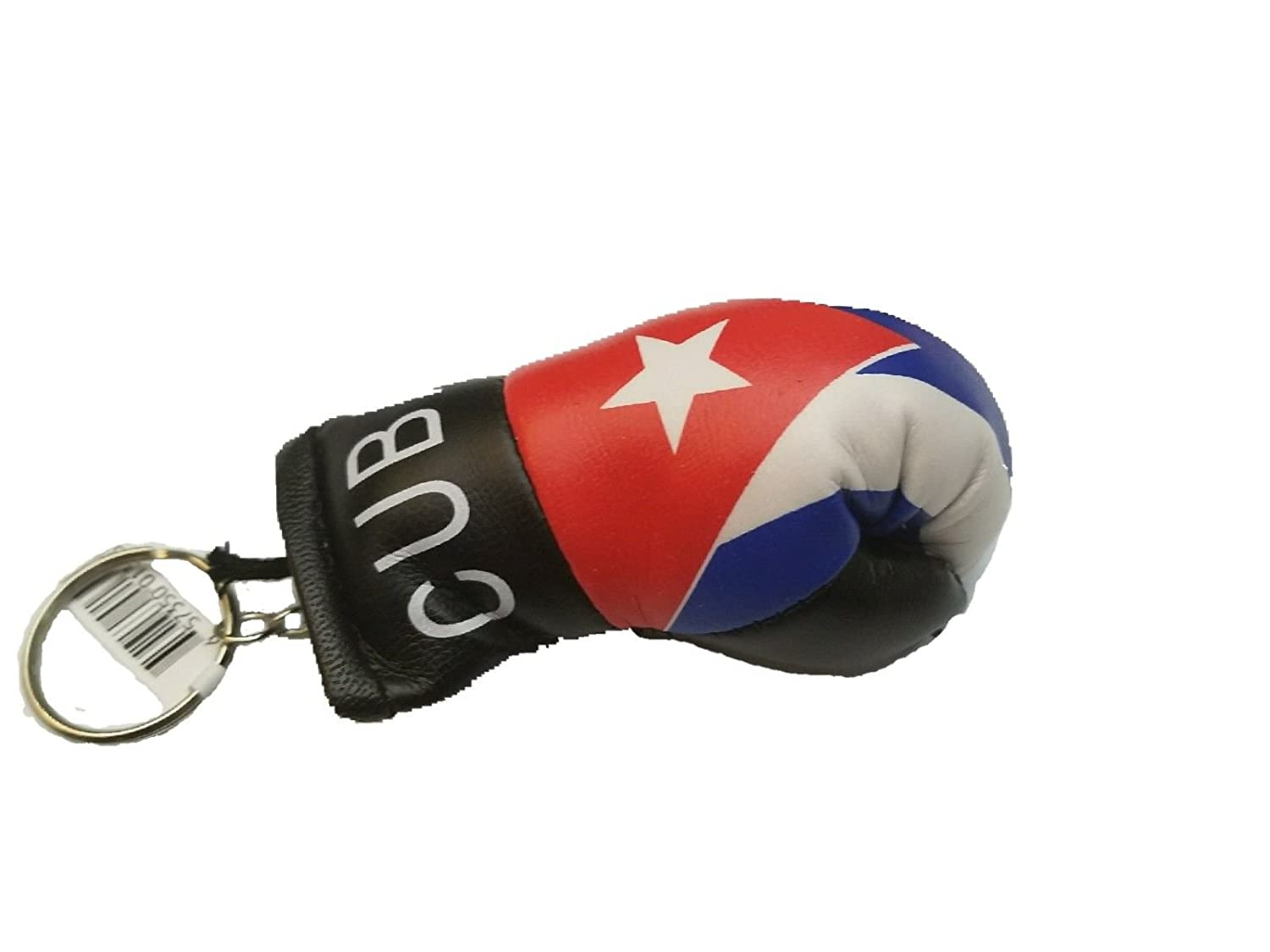 Amazon.com : Cuba Flag Keychain Boxing Glove Mini Lace Up ...