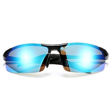2949ad90967 Pro Acme Polarized Sports Sunglasses for Men Durable Frame 100% UV  Protection (Black Frame