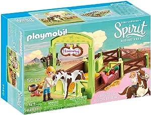 PLAYMOBIL Spirit Riding Free Abigail & Boomerang with Horse Stall