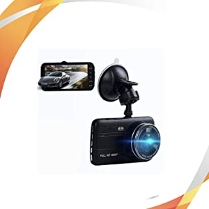 DEALSPLAZA Dual Dash CAM Full HD 1080P CAR DVR Camera Video Recorder Front and Rear Dual Monitor 4.0 INCH 170 Degree Wide Angle in CAR, Include MICROSD➕ ❗❕❗❕❗➕ ❗Free❗Mobile Phone Stand ❗❕❗❕❗