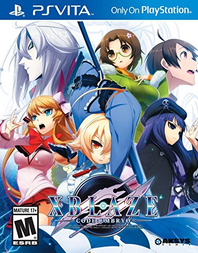 Xblaze Code:Embryo - PlayStation Vita