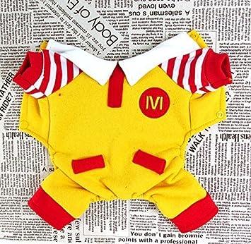 Pesco Nueva llegada Uncle McDonald perchero de pared de disfraz de estilo mascota abrigo de invierno cálido chaqueta perro Jumpsuit ropa de perros (mediana) ...