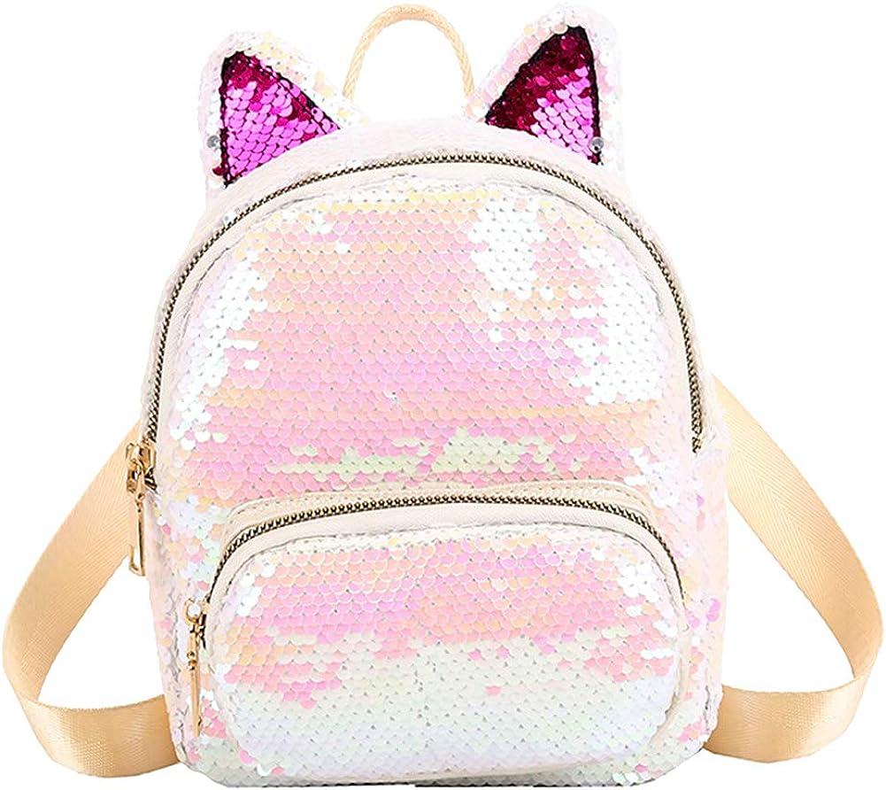 onestaring Pocket Backpack,Fashion Faux Leather Backpack Large Capacity Rucksack Shoulder Bag for Women Girls