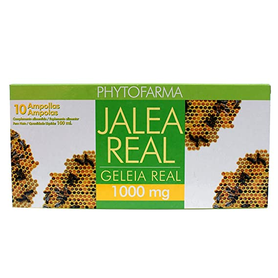 PHYTOFARMA Jalea Real 10 ampollas 1000 mg