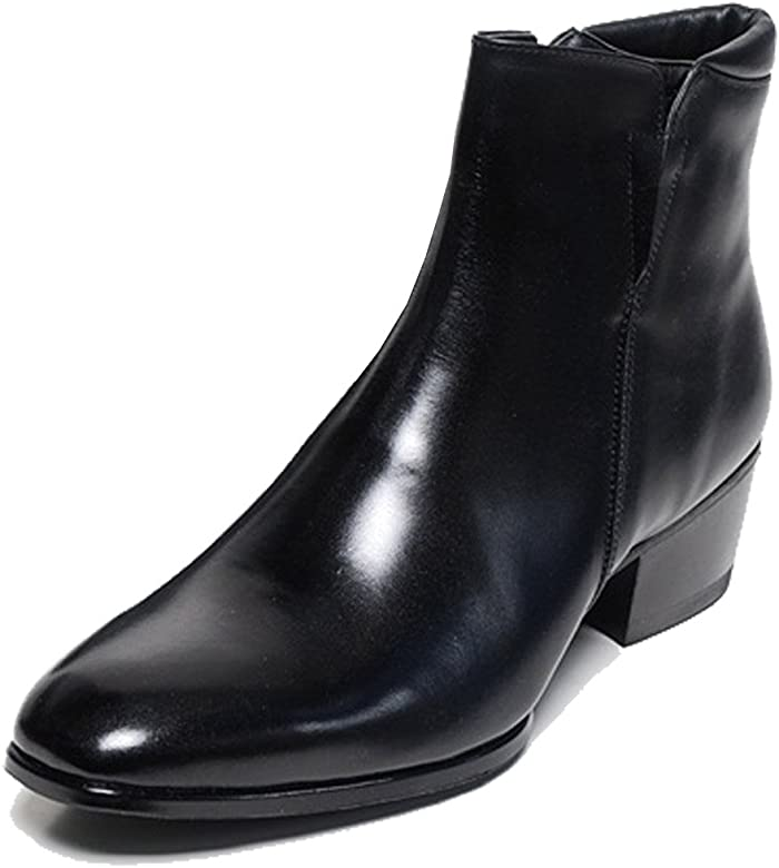 c69d522212c42 Mens Shoes Genuine Cow Leather Dress Formal Casual Classic Ankle Boots