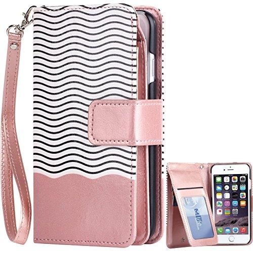 Designer iPhone 7 Wallet Case: Amazon.com
