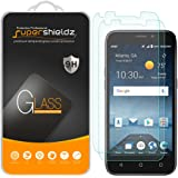 (2 Pack) Supershieldz for ZTE Maven 3 (AT&T) Tempered Glass Screen Protector, Anti Scratch, Bubble Free