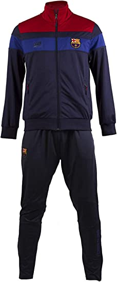 Taglia Pantaloni Giacca Bambino FC Barcelone Bar/ça Collezione Ufficiale Tuta Sportiva