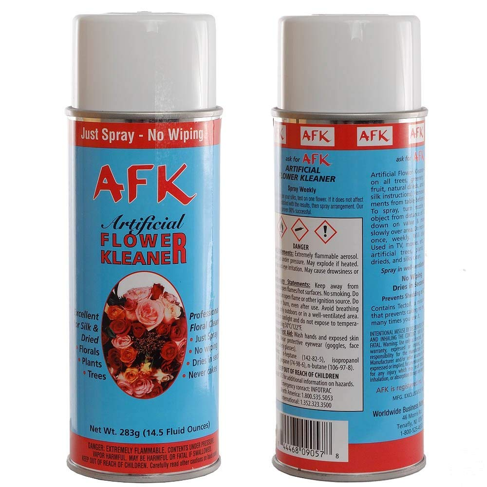 Larksilk Silk Flowers and Plants Aerosol Cleaner Spray - Artificial Flower and Plant Treatment for Cleaning, Shining and a Finishing Touch, No Wiping Needed, 2-Pack by Larksilk