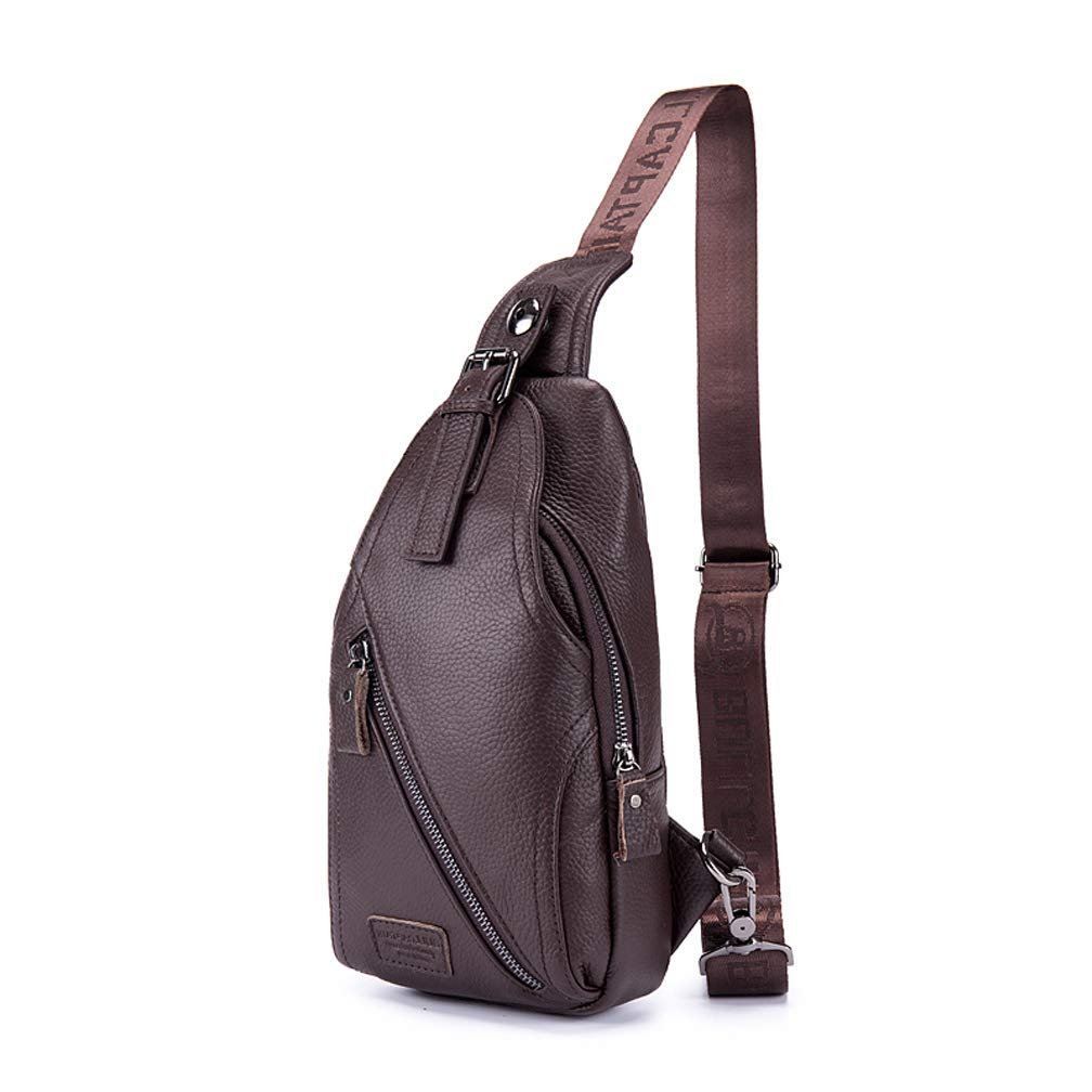2cf996b0aa93 Amazon.com: CAJOLG Lychee Grain Genuine Cow Leather Handbag Leather ...